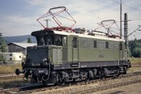 E44 1170 des DB Museum am 17.August 1996 im Bf Titisee (T.Horn)
