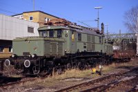 E 93 07 des DB Museum am 16.November 2005 in Kornwestheim-Nordwest (T.Horn)